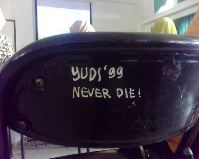 yudi `99 never die!