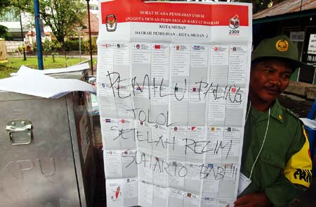 Pemilu paling tolol setelah rezim suharto babi!!!